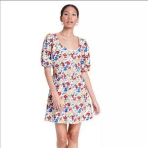 RIXO x Target Floral Puff Sleeve Bodice Dress 6